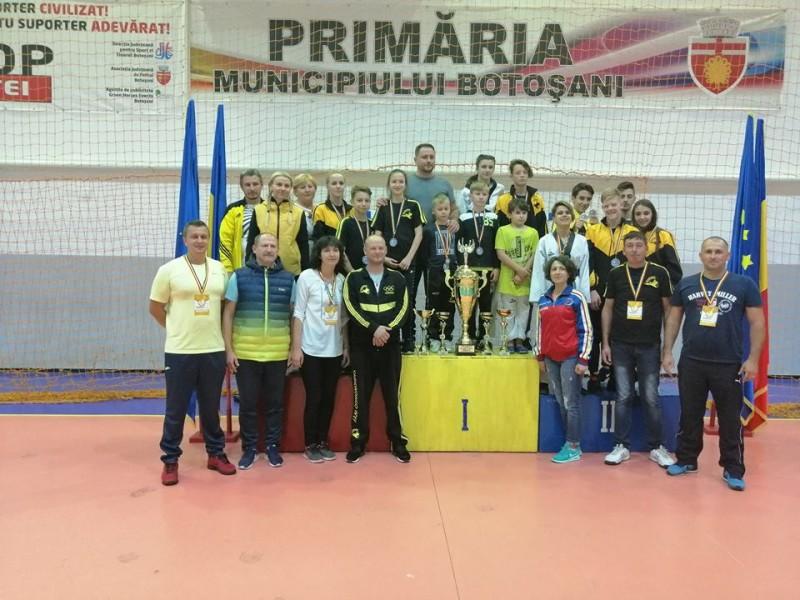 Turneu Național de Taekwondo WT organizat de C.S. Real Taekwondo Team Botoșani - FOTO