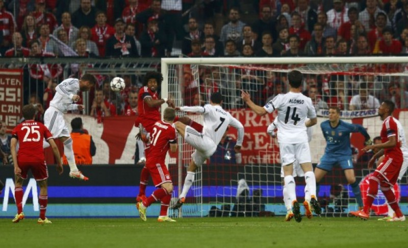 UCL: Real Madrid a distrus-o pe Bayern Munchen, 5-0 la general! VIDEO