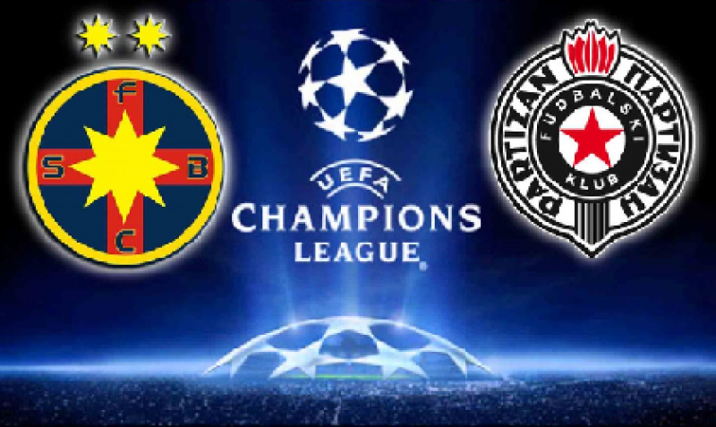 UCL: Steaua, doar 1-1 cu Partizan, inainte de a veni la Botosani