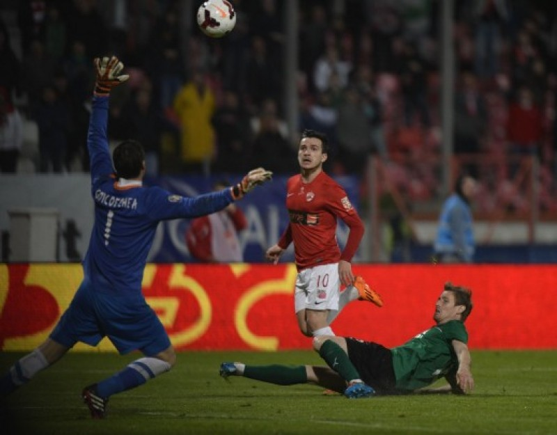 U.Cluj, invinsa la Sageata. Dinamo s-a impus cu Otelul. Vezi clasamentul final al etapei a 26-a!