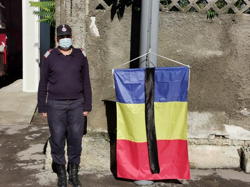 Ultim omagiu adus de IJSU pentru colonelul Radu Anton (video)