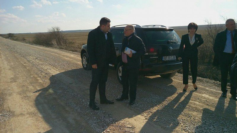 Ultimatum dat de Ministrul Transporturilor unui director care răspunde de drumurile naţionale din judeţul Botoşani!