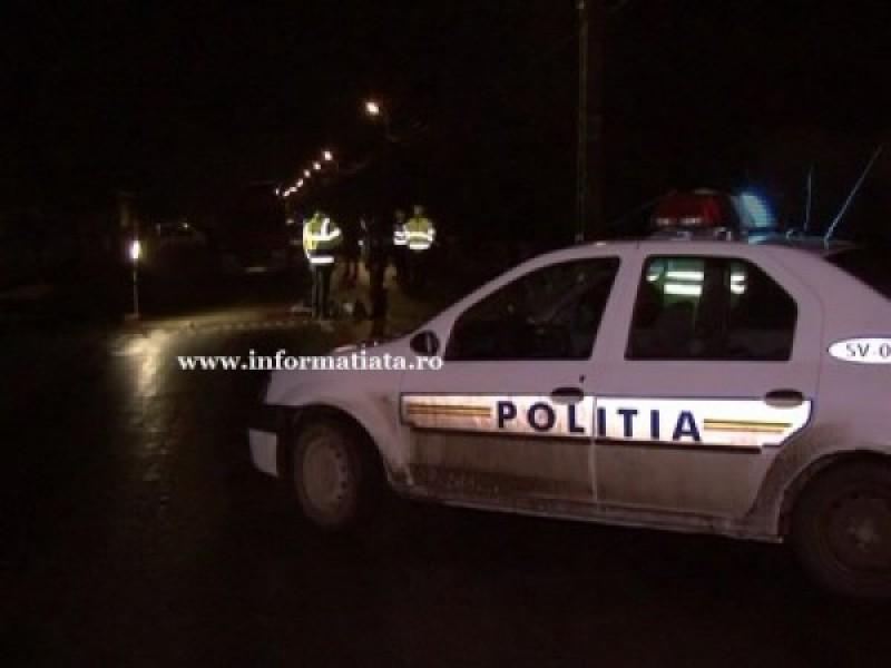 Un agent de poliţie a accidentat mortal un tânăr din Botoşani care stătea culcat pe şosea