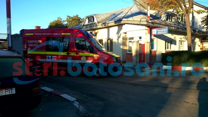 Un angajat al firmei Transporturi Auto a ajuns in stare grava la spital! FOTO