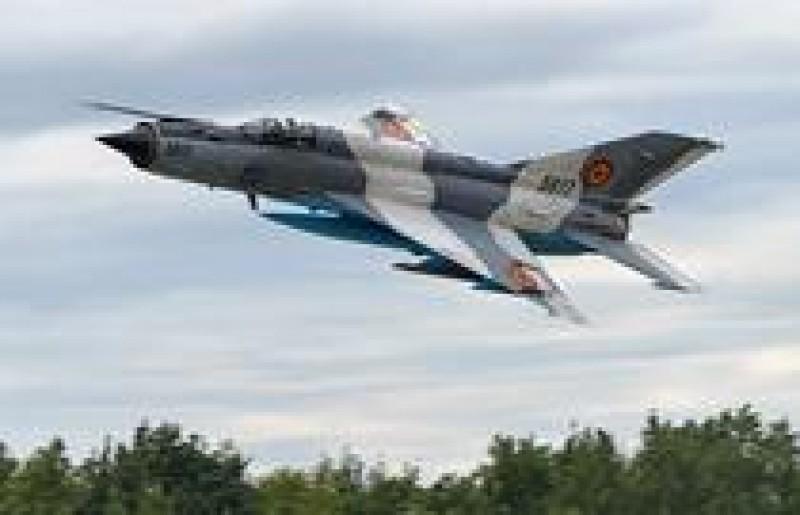 Un avion MIG 21 Lancer s-a prăbuşit în judeţul Constanţa!