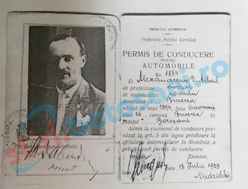 Un avocat din Botoșani, printre primii șoferi din România