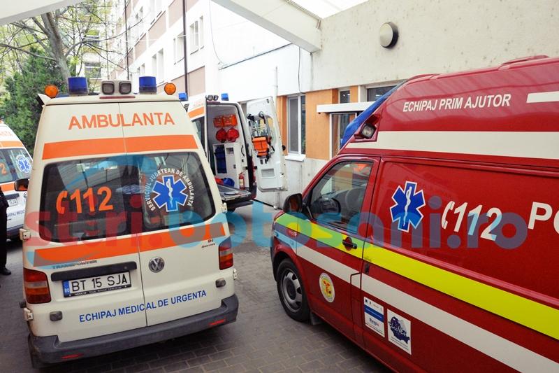 Un bărbat a murit înghețat pe o stradă din municipiul Botoșani!