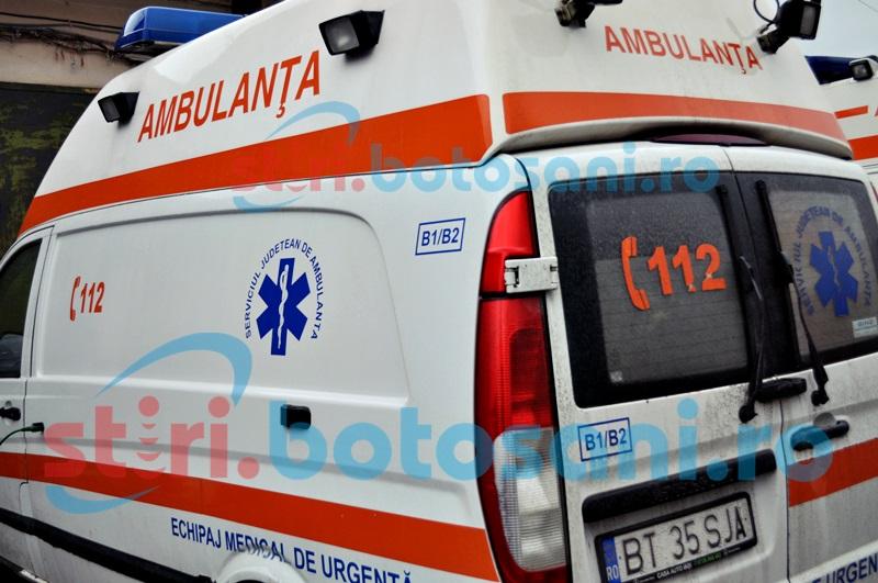 Un bărbat de 59 de ani și-a pierdut cunoștința într-un magazin din Botoșani. Cinci pompieri au intervenit