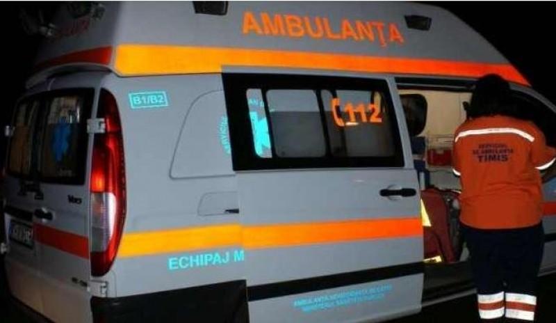 Un bărbat din Botoșani a căzut de la etaj, după ce a confundat fereastra cu ușa