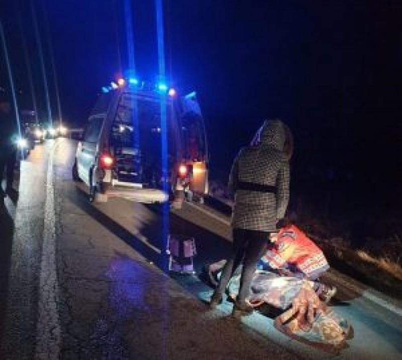 Un bărbat din Botoșani a fost spulberat de un autoturism