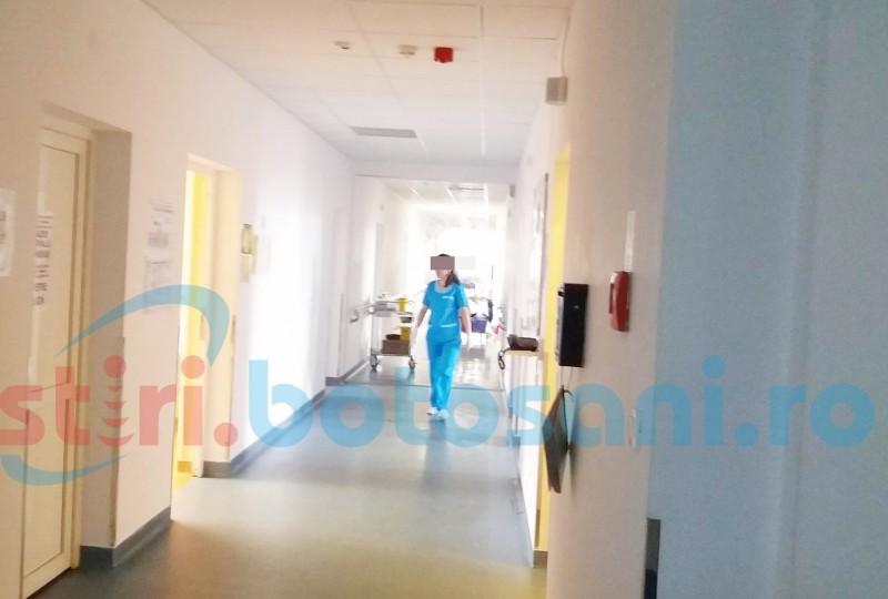 Un bărbat internat la Spitalul Județean Botoșani s-a aruncat de la etajul al patrulea al clădirii