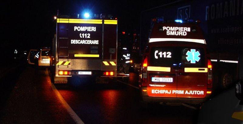 Un bătrân se zbate între viață și moarte, după ce a suferit arsuri grave într-un incendiu