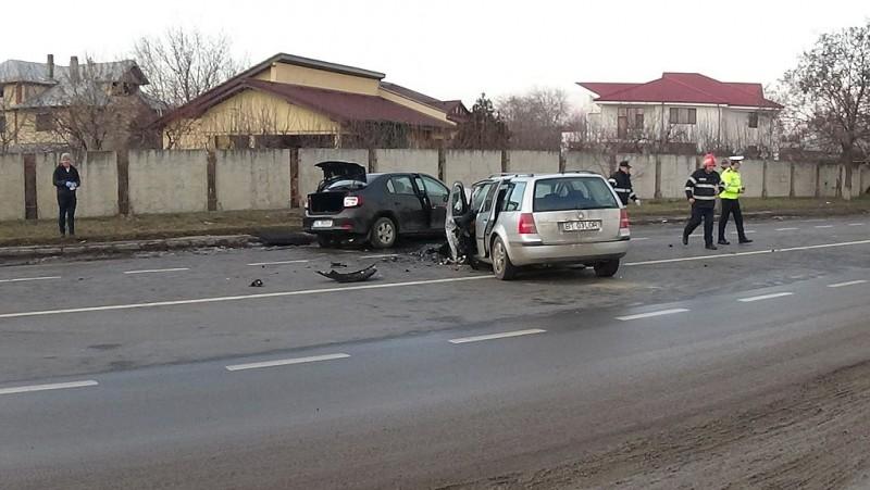 Un botoşănean a adormit la volan şi a produs un accident de circulaţie!