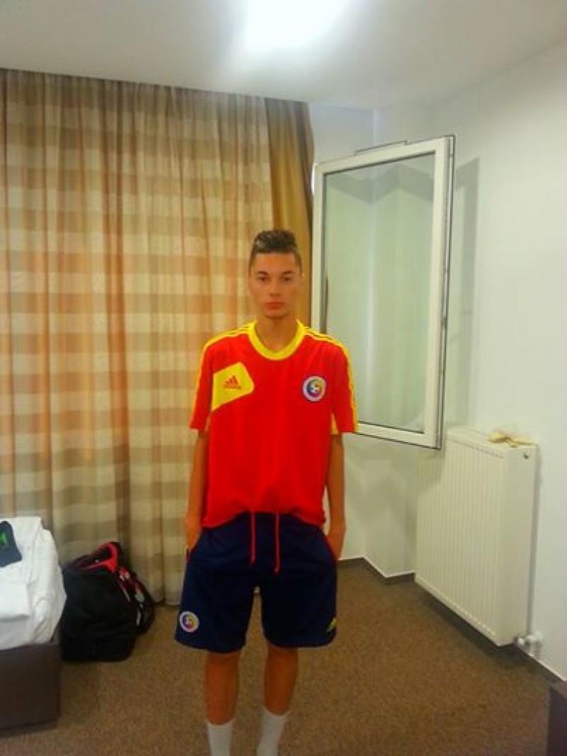 Un botosanean a debutat cu pasa de gol la echipa nationala a Romaniei U18!