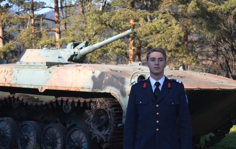 Un botoșănean a depus jurământul de cadet al Academiei Militare West Point din SUA