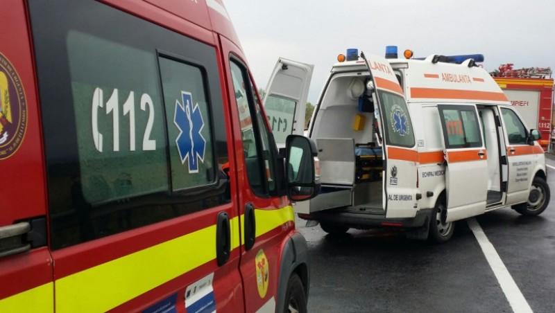 Un botoșănean a provocat un accident cu cinci răniți în județul Suceava
