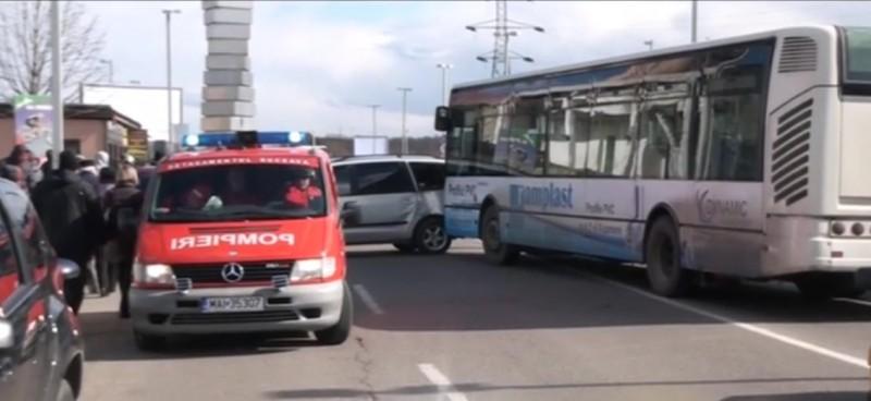 Un botoșănean a provocat un accident cu trei victime, în municipiul Suceava!