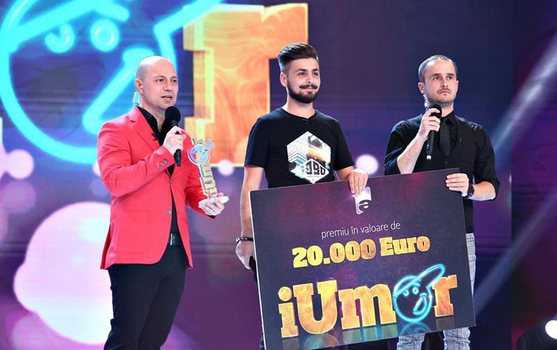 Un botoșănean câștigă sezonul 8 al emisiunii televizate iUmor - VIDEO