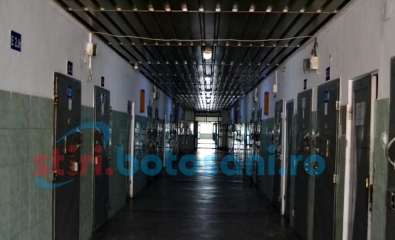 Un deținut de la Penitenciarul Botoșani a fost confirmat pozitiv la testarea pentru SARS-CoV-2