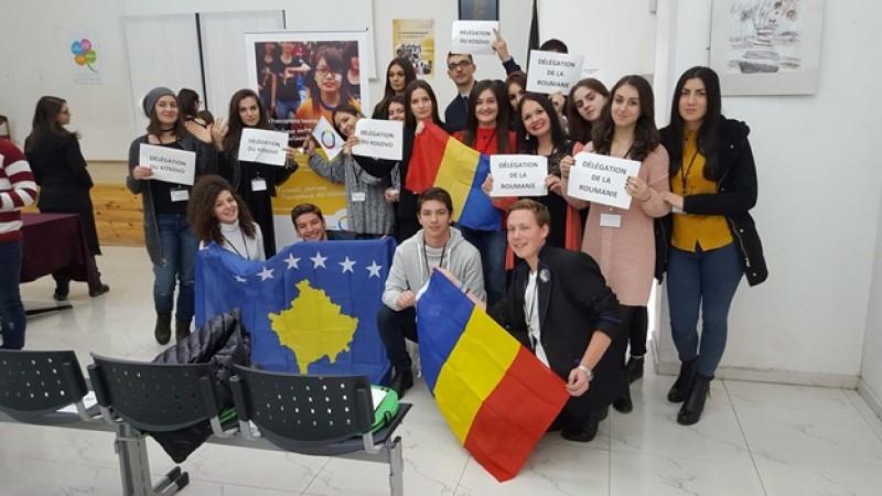 Un elev botoşănean a făcut parte din delegaţia României la un forum jurnalistic în limba franceză desfăşurat la Sofia