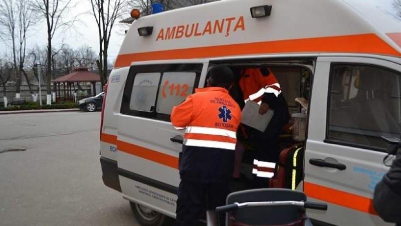Un elev de 15 ani a căzut de la etajul al doilea al unui internat de la Botoșani