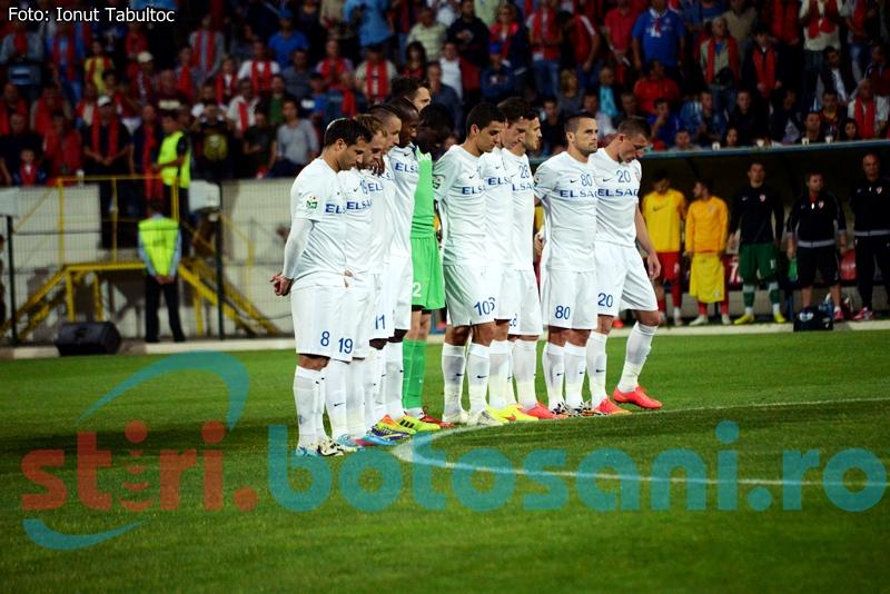 """Un fotbalist de la FC Botosani, in topul celor mai """"grei"""" jucatori din Liga 1! Vezi care este media de greutate a echipei!"""