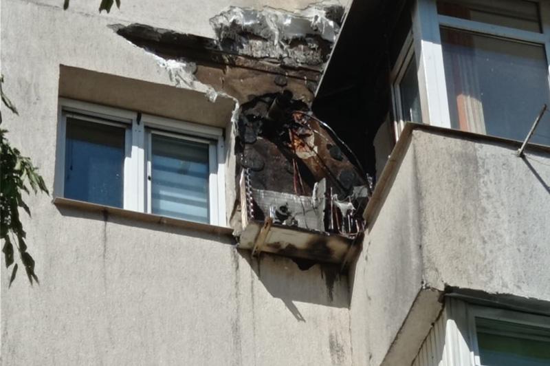 Un incendiu la un aparat de aer condiționat a pus pe jar un întreg cartier
