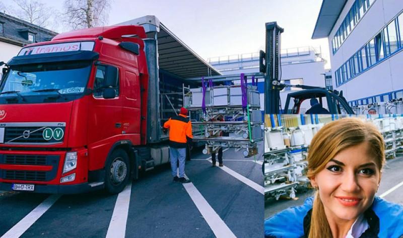 Un medic botoșănean stabilit în Germania a trimis 300 de paturi pentru pacienții din România