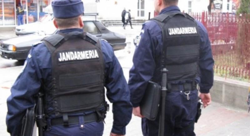 Un jandarm și-a împușcat accidental colegul de antrenament