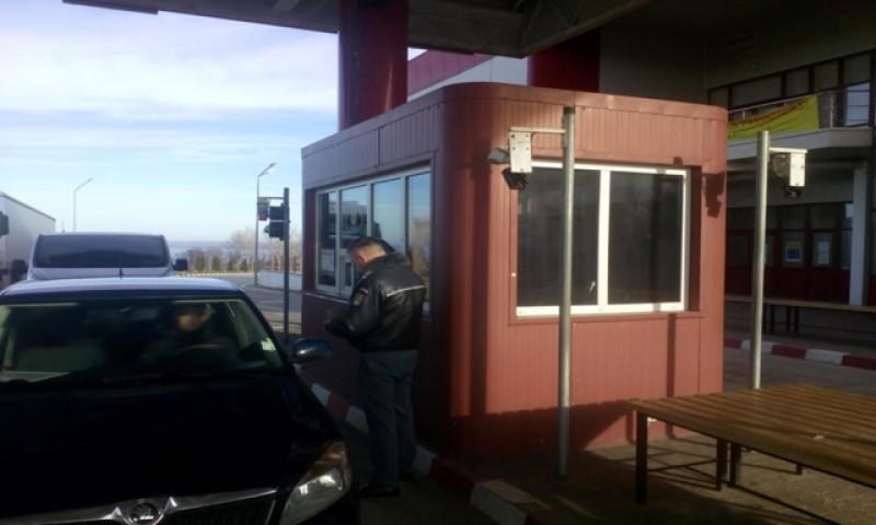 Un moldovean a încercat să treacă granița la volan, fără permis de conducere