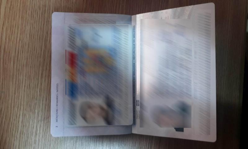 Un moldovean voia să plece cu o carte de identitate falsă în Franța. Polițiștii români i-au dejucat planul