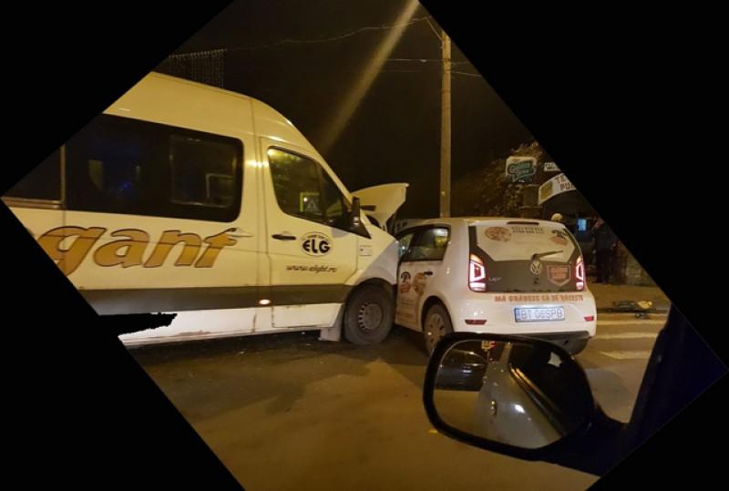 Un nou accident în zona Laurian din Botoșani în această seară