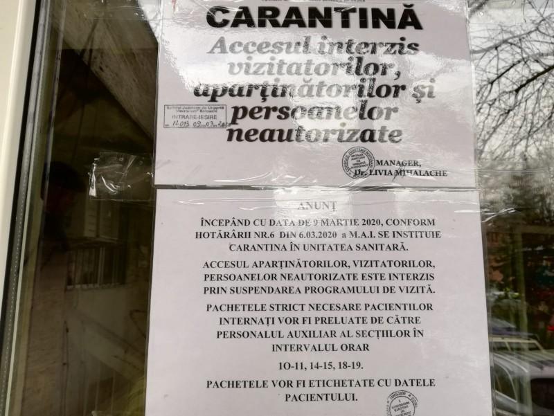 Un nou centru de carantină în Botoșani