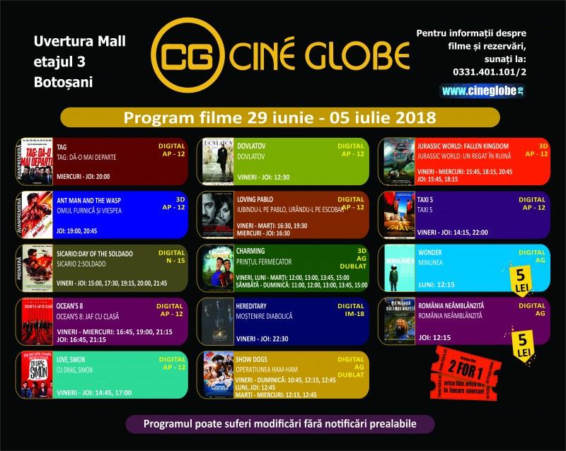 Un nou film din universul Marvel a ajuns la Cine Globe Botoșani!