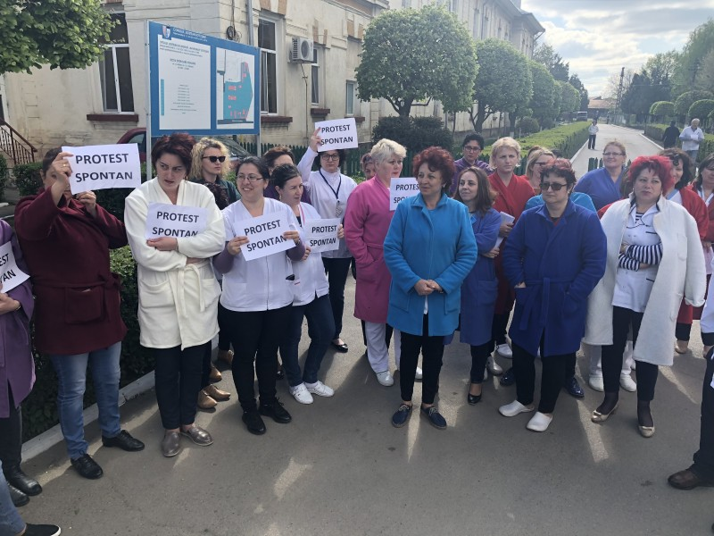 Un nou protest la Psihiatrie!