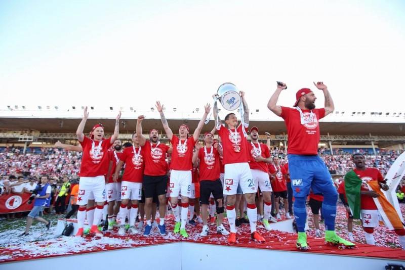Un nou trofeu important pentru Michael Ngadeu! A marcat din nou si a castigat titlul de campion cu Slavia Praga! VIDEO