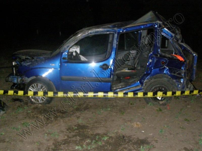 Un om de afaceri a murit într-un cumplit accident, la Dorohoi! FOTO