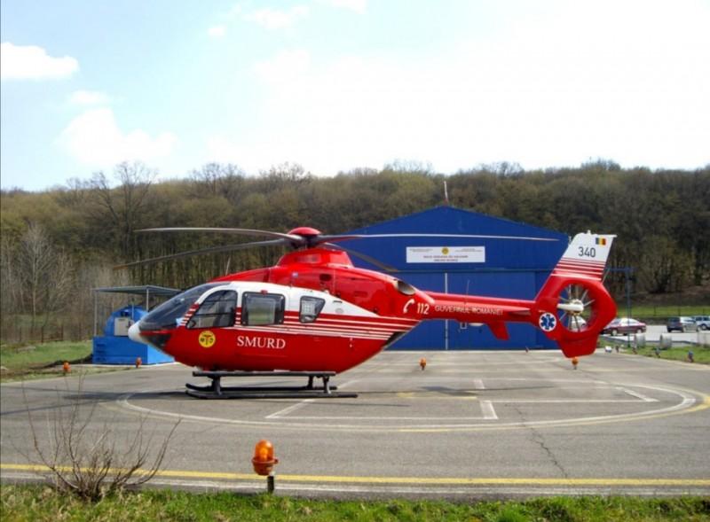 Un pacient a murit înainte să fie transportat cu elicopterul SMURD