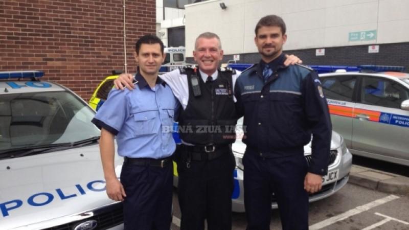 Un polițist care a lucrat la Botoșani a băgat spaima în infractorii din Anglia!