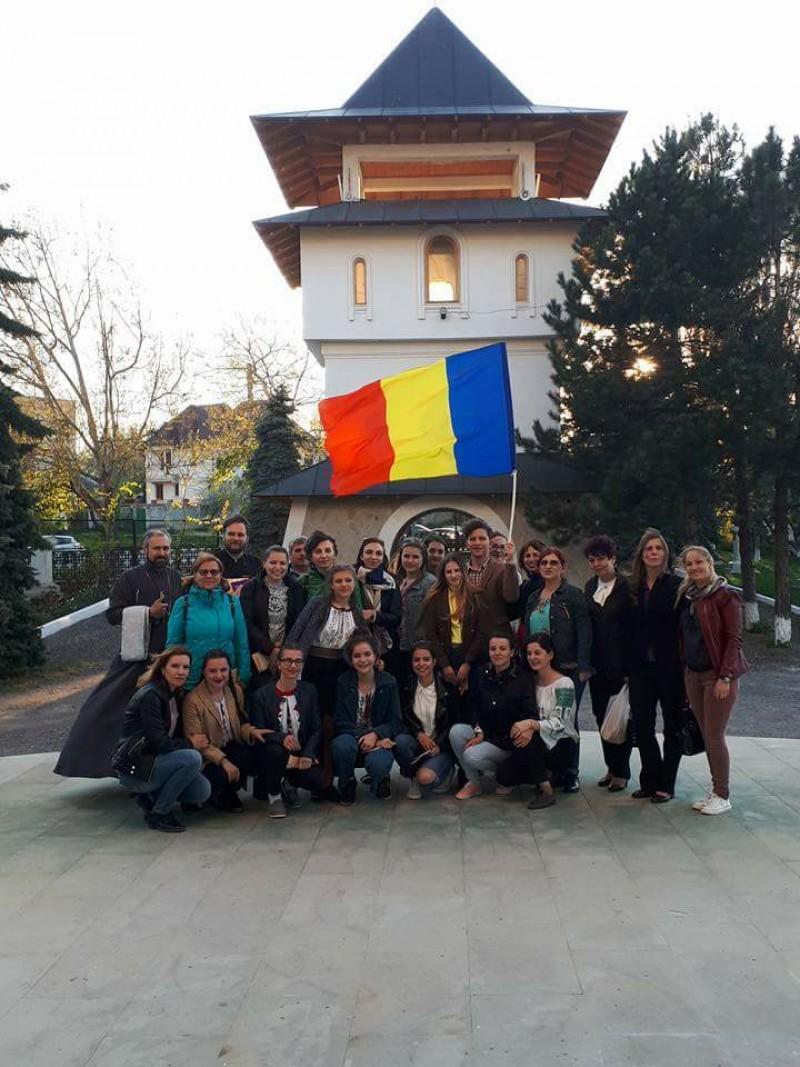 """Un proiect de suflet, pentru oameni cu suflet: Elevi și profesori de la """"Laurian"""", """"Uniţi sub semnul culturii"""" cu colegii lor de peste Prut! - FOTO"""