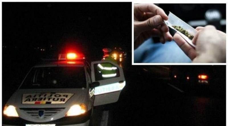 Un tânăr a fost reţinut 24 de ore: nu avea carnet la volan, purta cuțite la el, a ieșit pozitiv la cannabis, în portbagaj avea un cântar electric de mici dimensiuni, un dispozitiv pentru mărunţit…