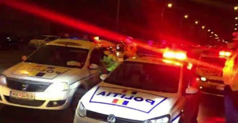 Un tânăr fără permis a rămas fără mașină și a fost reținut pentru 24 de ore după o urmărire ca-n filme pe străzile din Negreni