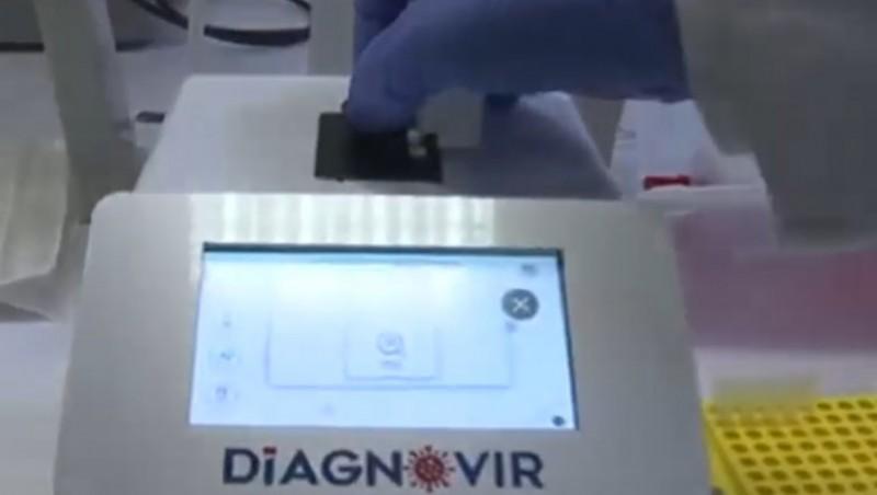 Un test care detectează Covid-19 în 10 secunde a fost inventat în Turcia (video)