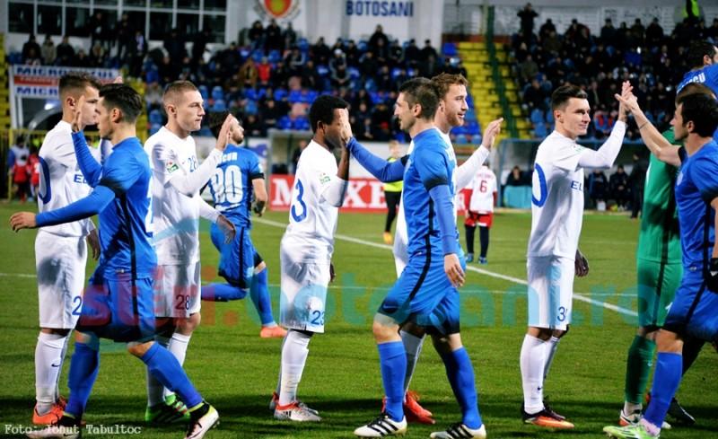 Un titular de la FC Botosani rateaza meciurile cu CFR Cluj si Dinamo