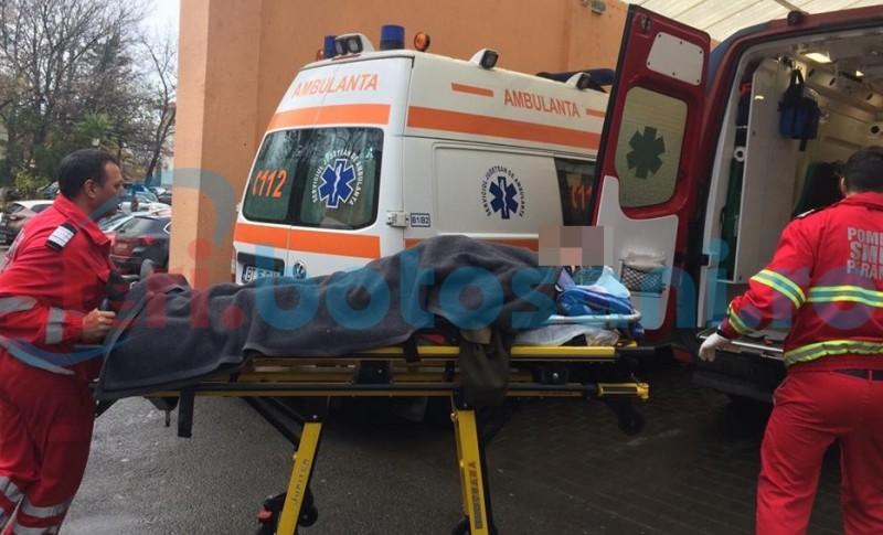 Una dintre victimele din accidentul de la Saucenița, transferată la Iași!