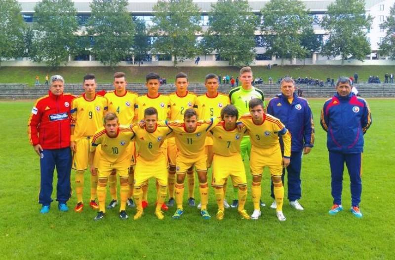 UNDER 18: Serbia a remizat cu Romania, scor 3-3, cu botosaneanul Andrei Burlacu titular! FOTO