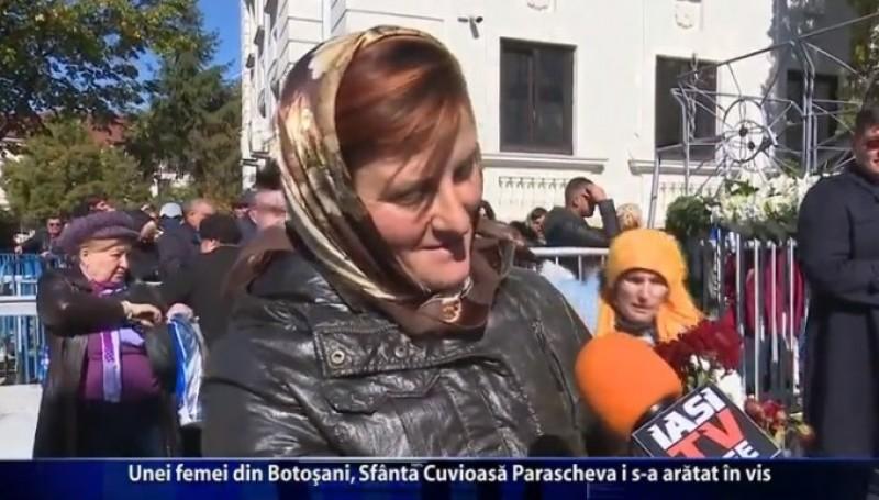 Unei femei din Botoşani, Sfânta Cuvioasă Parascheva i s-a arătat în vis
