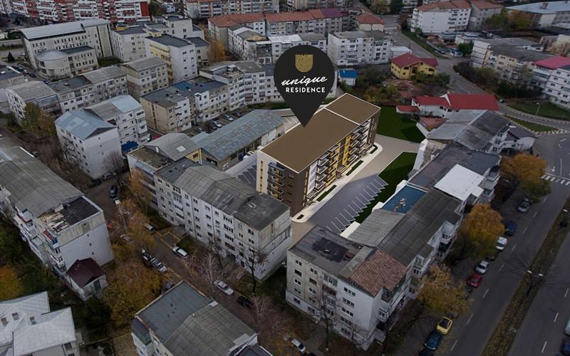 UNIQUE Residence Gh. Avramescu - asigură facilitatea de recompartimentare fără a afecta structura de rezistenţă