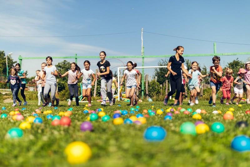 Unul din cele mai originale locuri de joacă din ţară se găseşte în Botoşani
