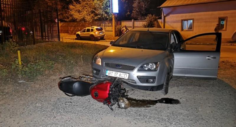 Unul din tinerii implicați în accidentul de motocicletă de vinerea trecută a murit!